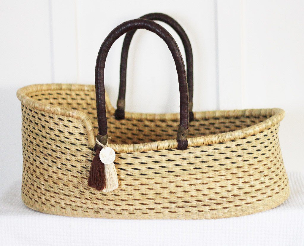 natural moses basket