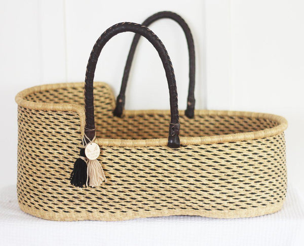 'Orion' Moses Basket  - (mattress included)