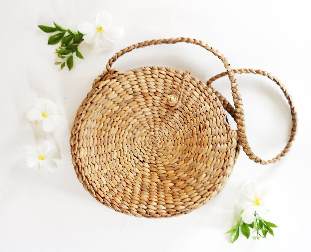 Palm Circle Crossbody Bag