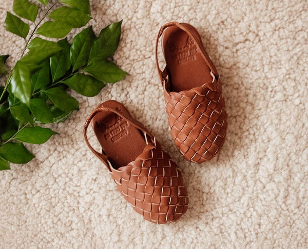 kids leather sandal