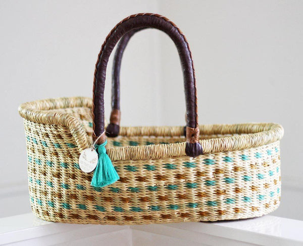 'Forest' Mini Moses Doll Basket