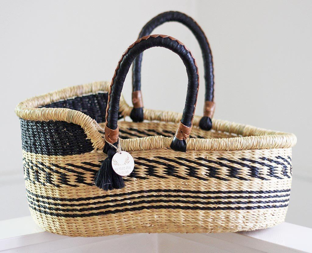 'Raven' Mini Moses Doll Basket