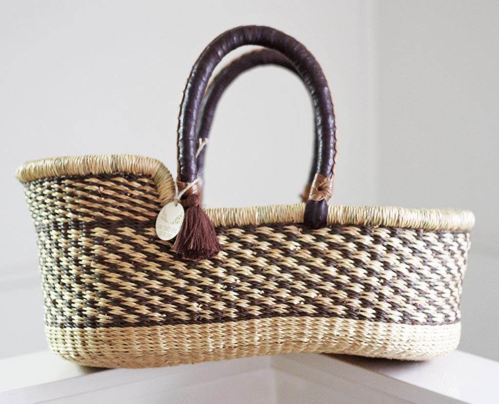 'Hazelnut' Mini Moses Doll Basket