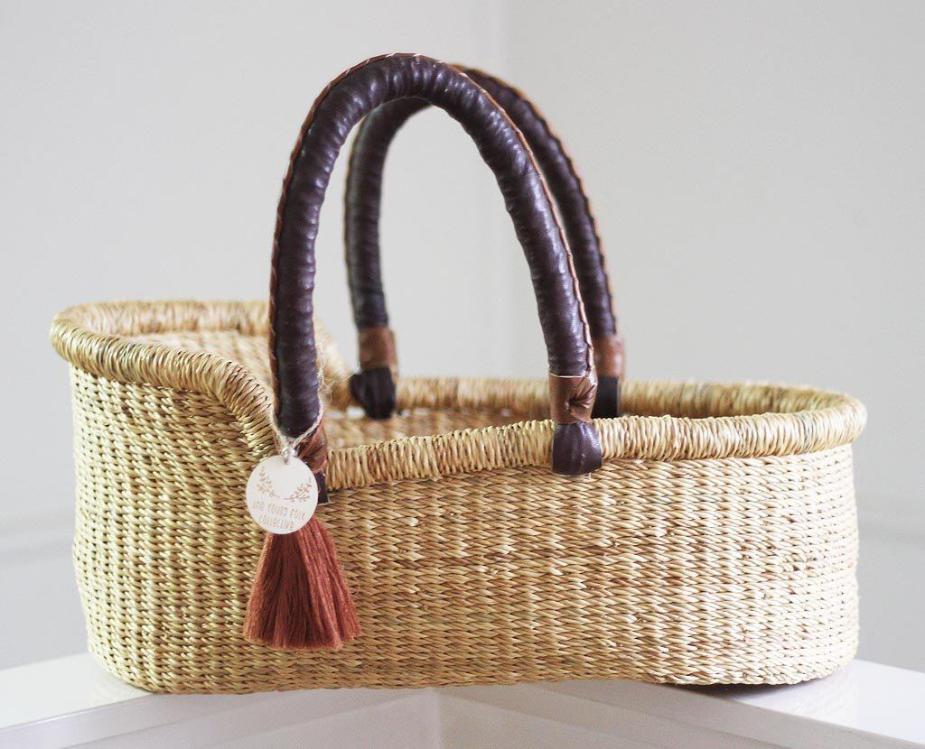 'Desert Sand' Mini Moses Doll Basket