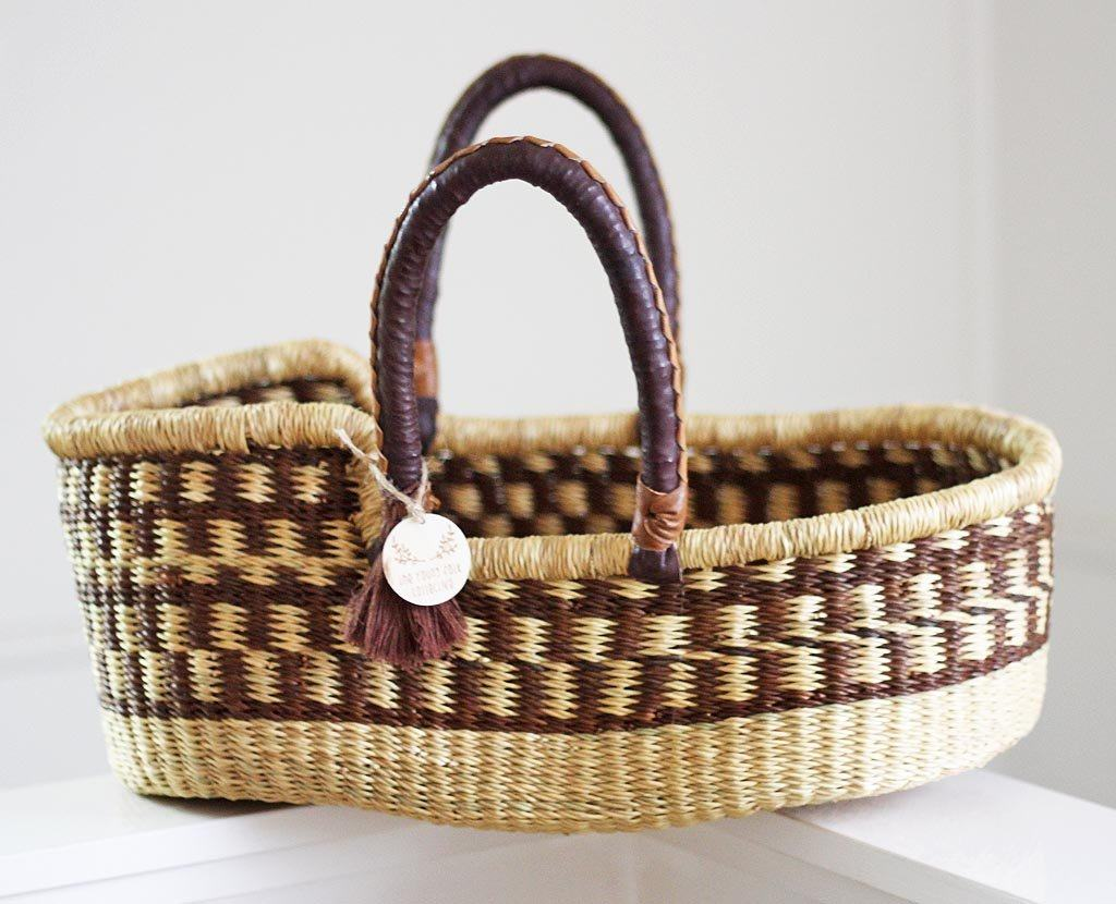 'Pebbles' Mini Moses Doll Basket