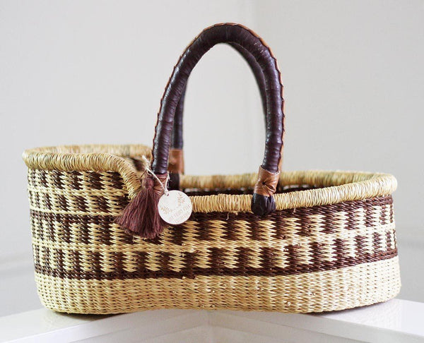 'Chestnut' Mini Moses Doll Basket