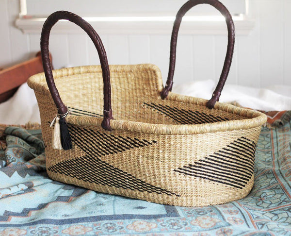 'Phoenix' Moses Basket - (mattress included)