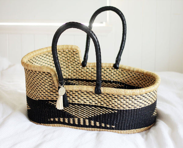 'Stardust Moses Basket  - (mattress included)