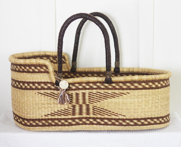 moses basket natural
