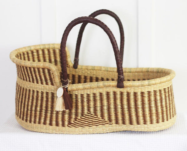 'Acre' Moses Basket  - (mattress included)