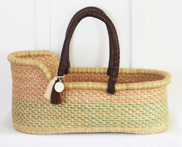 'Aurora' Moses Basket  - (mattress included)