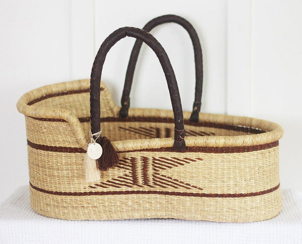 'Nirvana' Moses Basket  - (mattress included)