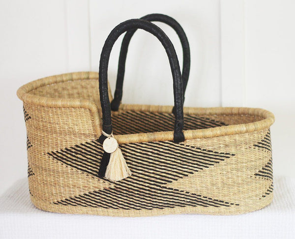 'Chakra' Moses Basket  - (mattress included)
