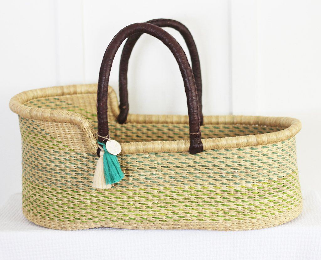 'Rockpool' Moses Basket  - (mattress included)