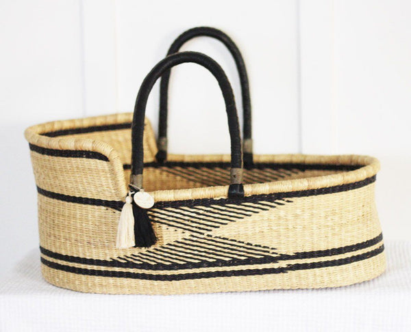 'Finch' Moses Basket  - (mattress included)