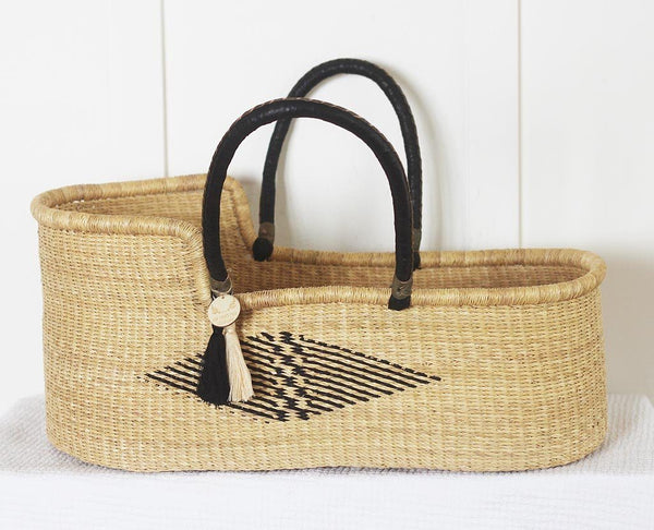 'Dragonfly' Moses Basket  - (mattress included)
