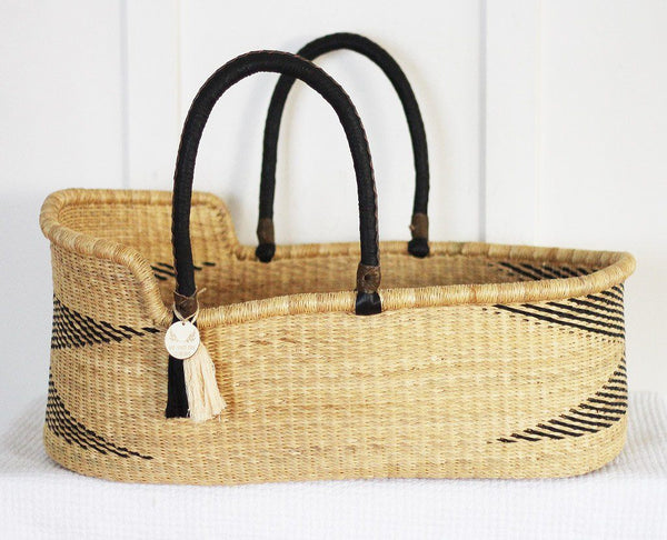 'Zen' Moses Basket  - (mattress included)