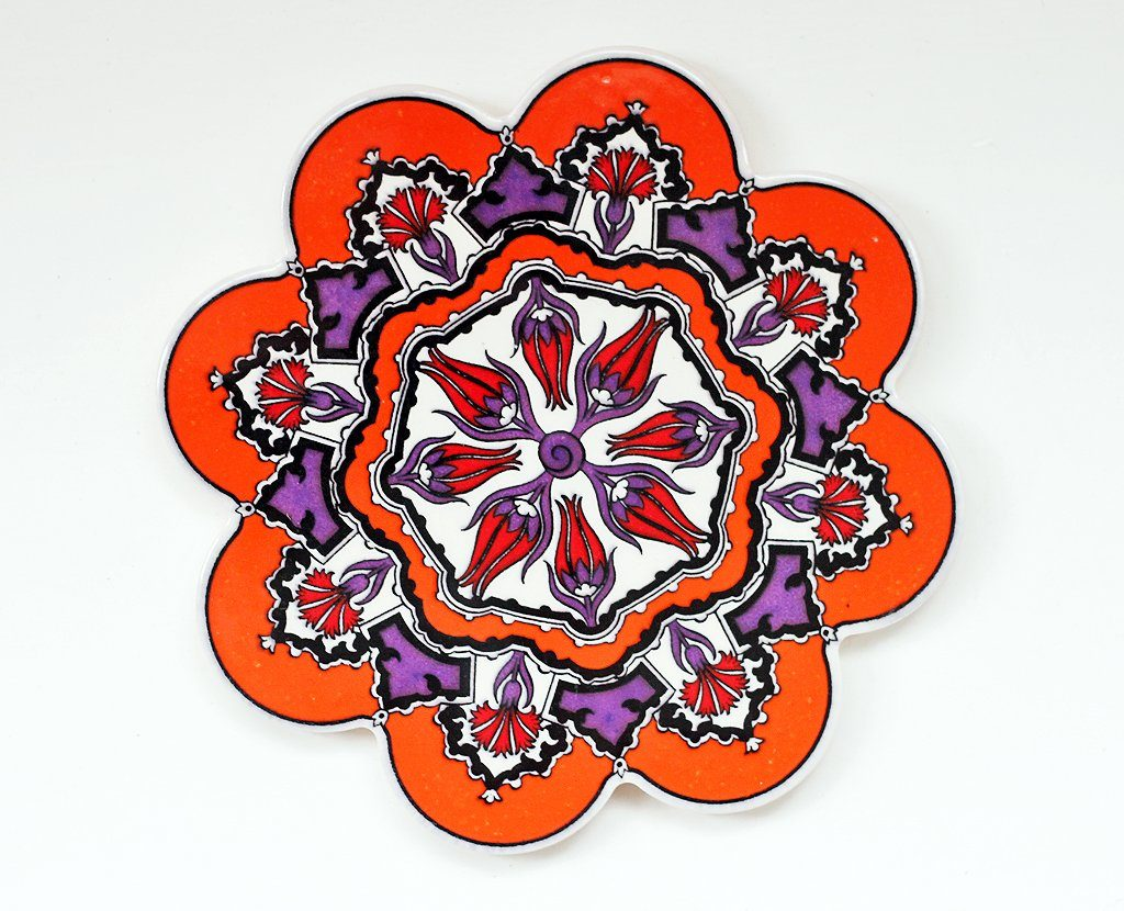 'Tigerlily' Turkish Trivet