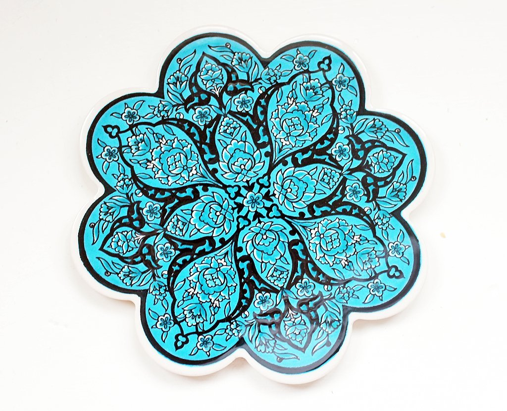 'Aqua' Turkish Trivet