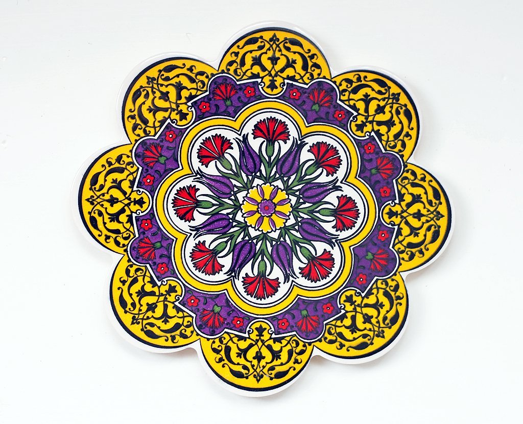 'Springtime' Turkish Trivet
