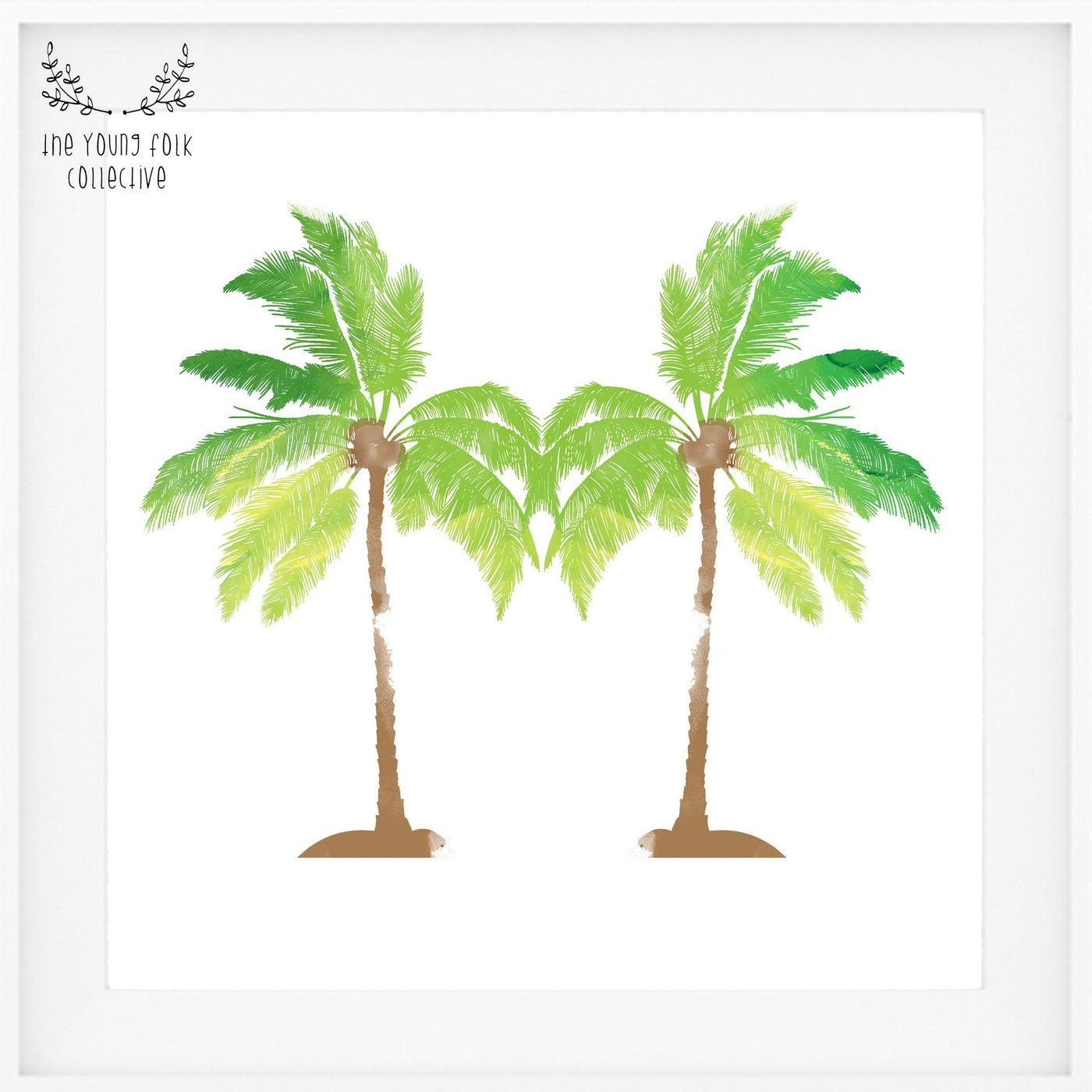 nursery print tropical