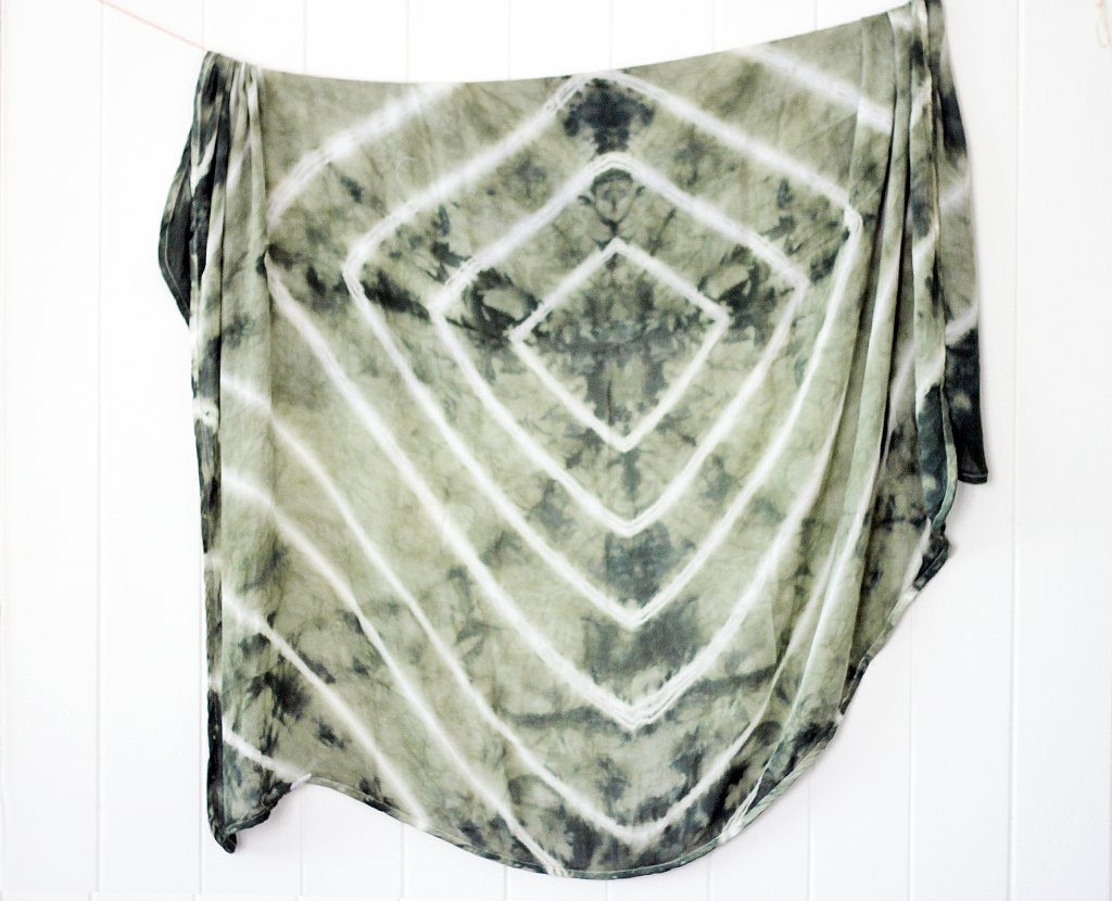 'Olive Tree' - Bamboo Muslin Swaddle Wrap