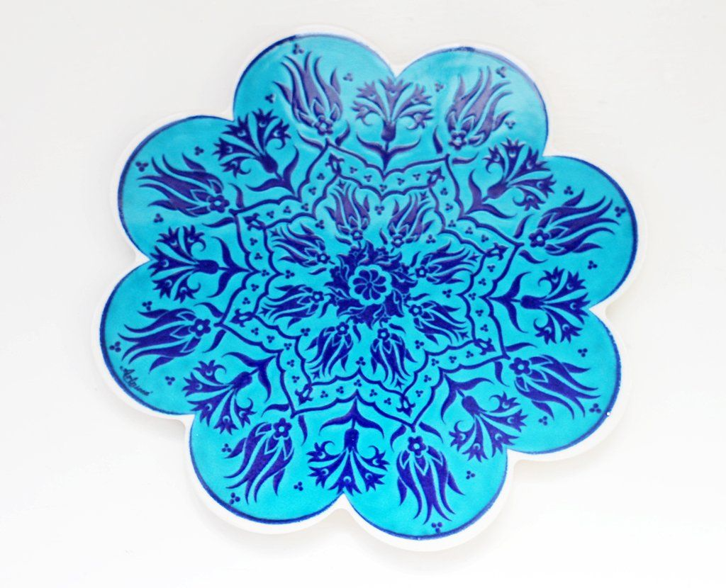 'Aqua Shores' Turkish Trivet