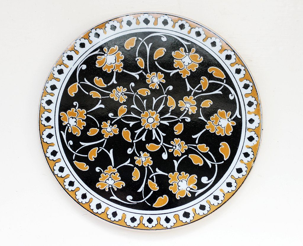 'Mustard Muse' Turkish Trivet