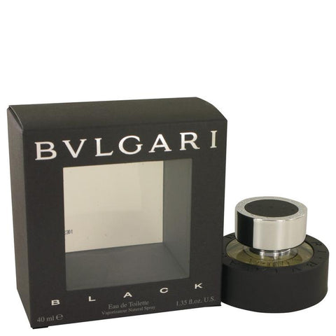 BVLGARI BLACK (Bulgari) by Bvlgari Eau De Toilette Spray 1.3 oz