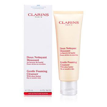 Clarins Gentle Foaming Cleanser with Shea Butter (Dry- Sensitive Skin)