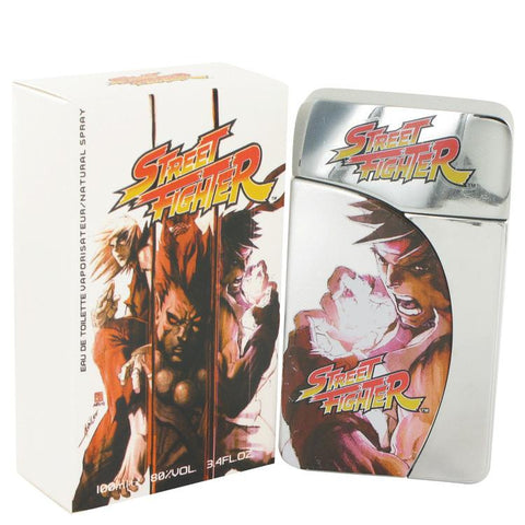 Street Fighter by Capcom Eau De Toilette Spray 3.4 oz
