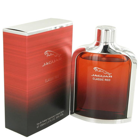 Jaguar Classic Red by Jaguar Eau De Toilette Spray 3.4 oz