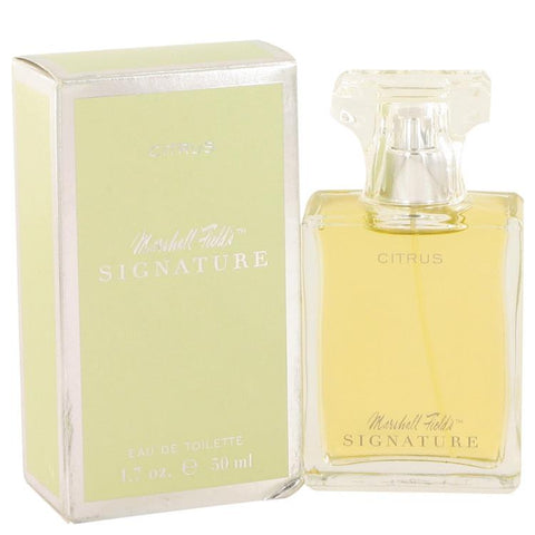 Marshall Fields Signature Citrus by Marshall Fields Eau De Toilette Spray (Scratched box) 1.7 oz