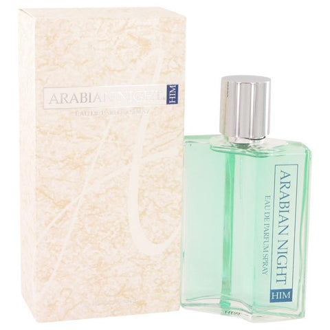 Arabian Nights by Jacques Bogart Eau De Parfum Spray 3.4 oz