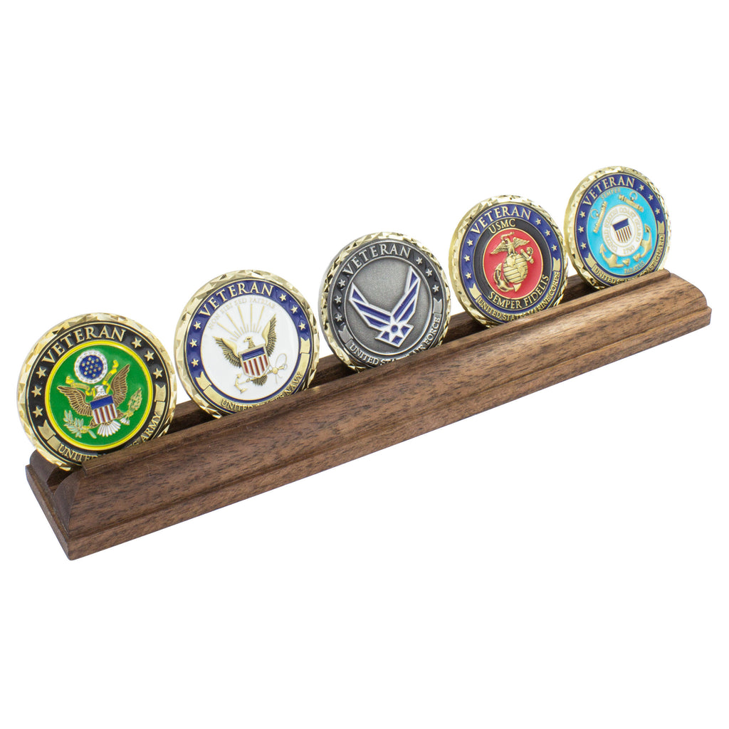New! Military Veteran Challenge Coins