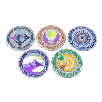 """The Team Leader"": 5-Pack, 1 of Each - AttaCoin"