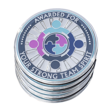 5 Pack: Strong Team Spirit - AttaCoin