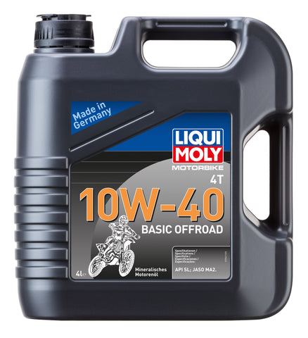 LiquiMoly Full Synthetic 10W-40 Engine Oil