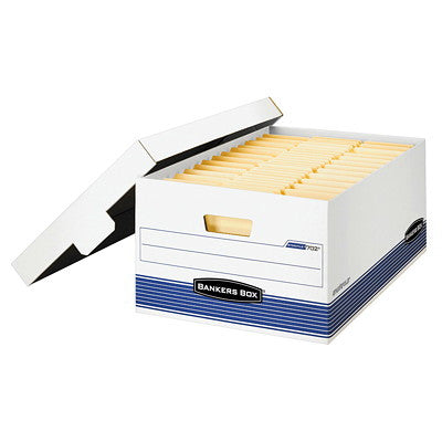 Bankers Box Quick/File Storage Box