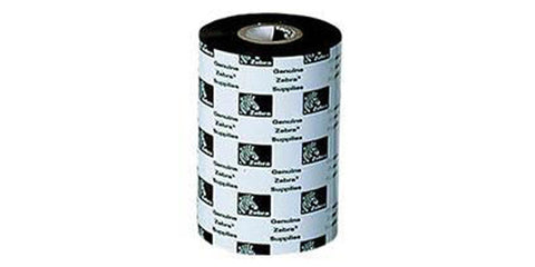 Zebra Consumables 3200 Wax/Resin Ribbon 3.3 X 244'' 0.5 Core 12 Rolls Per Case Priced Per Roll