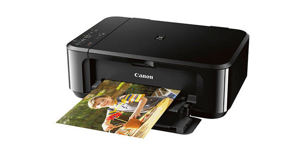 Canon PIXMA MG3620 Photo All-in-One Inkjet Printer, 9.9 ipm, WiFi, Black