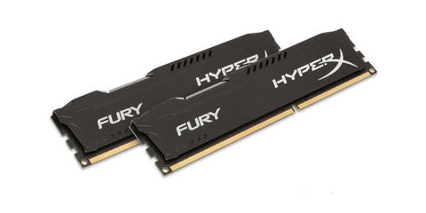 Kingston HyperX Fury Memory Black 16GB 2x8GB DDR3-1866 CL10 Dual Channel Memory Kit