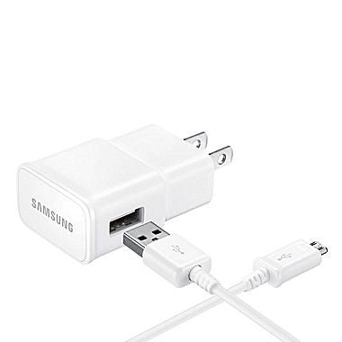 Samsung MicroUSB 2A Wall Charger, White