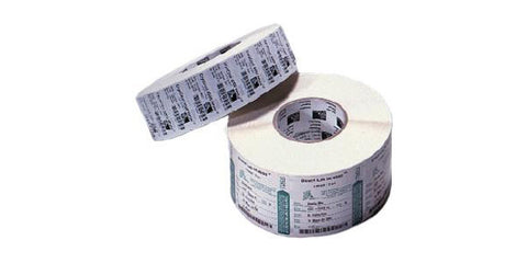 Zebra Barcode Label TT 2.00IN X 1.00IN Polypro 4000T (2100/RL - 8RL/B) (1.00IN CO - 5