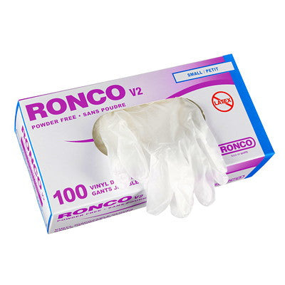 Ronco Vinyl Disposable Gloves
