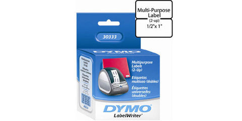 Dymo LBL DT 0.05IN X 1.00IN (1000/R) Multipurpose Wht - (Non RET/CANC)