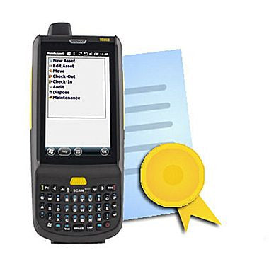 WASP, HC1 MOBILE COMPUTER W/QWERTY KEYPAD AND INVENTORY CONTROL MOBILE LICENSE