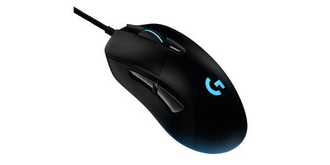 Logitech G403 Prodigy Wired RGB Gaming Mouse - 1ms Report Rate / Adjustable Weight / 6 Prog Buttons