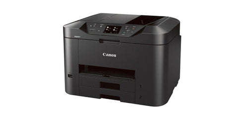 "Canon Maxify MB2320 3.0"" Touch LCD Double Cassettes Wireless Home Office All-in-One Printer Black"