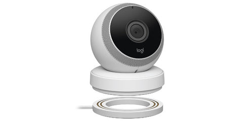 Logitech Circle Portable Home Connection Wireless HD Security Camera With IOS / Andriod App - White